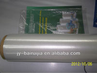 transparent soft dust proof 15/19/25 micron POF center folded shrink film with printing