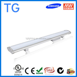60w 80w 100w led low bay light, Meanwell driver and Samsung G2 led low bay 5 year warranty