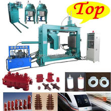 China Factory made silicone 40.5kv partition insulator automatic heating press moulding machine APG1210