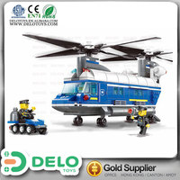 overseas wholesale suppliers plastic interlocking toy for kids building blocks helicopter DE0083206