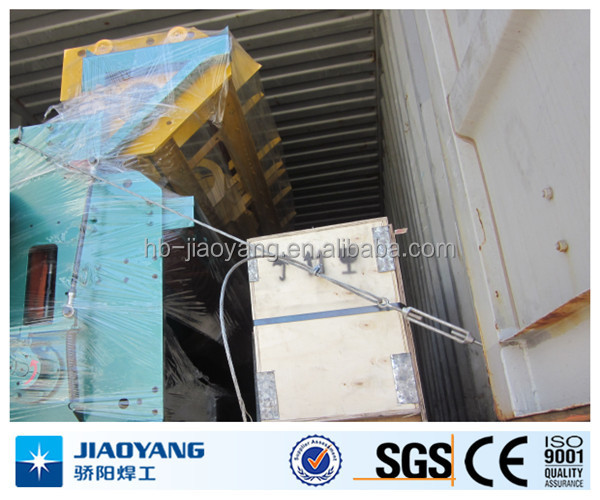 full automatic steel bar welded mesh machine poduction line