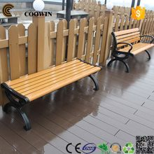Good quality hot selling easy clean removable wpc bench