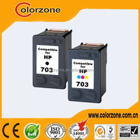 Best price compatible ink cartridge for hp 703 with two years warranty