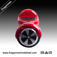 2015 attractive 6.5 inch 350W smart two wheel self balance scooter electric board with bumper strip