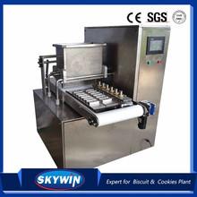 Máquina combinada de corte de fio e depósito de biscoitos SKYWIN