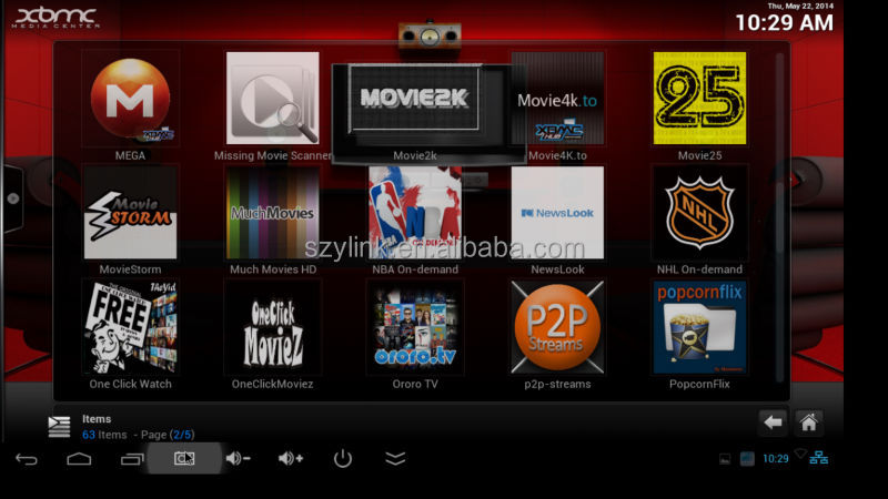 CS918 XBMC installed Miracast+Dlna+Airplay rk3188 quad core 2g ram 8g rom google android tv box