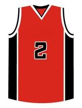 wholesale black/red basketball team wear