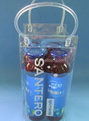 fashion reusable decorative plastic bags with zipper