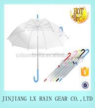 2015 Chinese clear umbrella transparent umbrella wedding umbrella