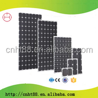 Top efficiency long lifetime 100w mono solar panel with cheap price