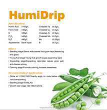 Broad-Spectrum Humic Acid Liquid Fertilizer