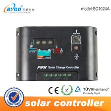 PWM 12V 24V DC to AC Solar Controller with LED Light 10A Solar Charge Controller