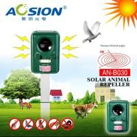 PIR Motion Activated Sensor Sound Flashlight Animal Bats Bird Repeller