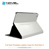 Exquisite full size 3D blank sublimation pu leather shell for Ipad Mini 2