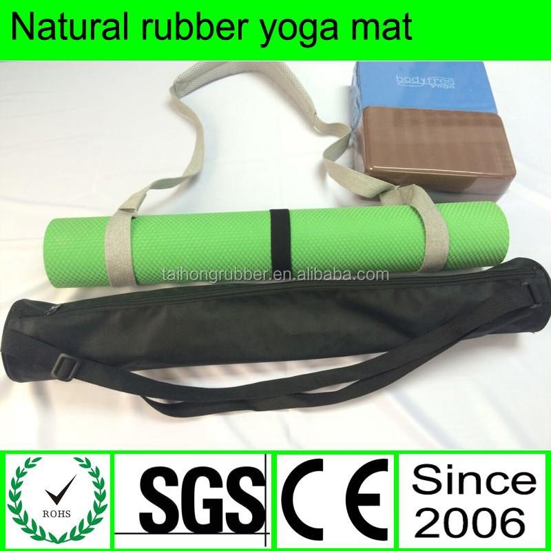 Black Natural Rubber Yoga Mat Bag Buy Yoga Mat Bag Black