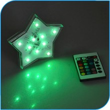 2015 Party Decoration High Brightness Star Shape Led Lights For Christmas Decoration In Holiday Lighting