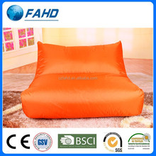 active orange cheap wholesale furniture outdoor bean bag chair