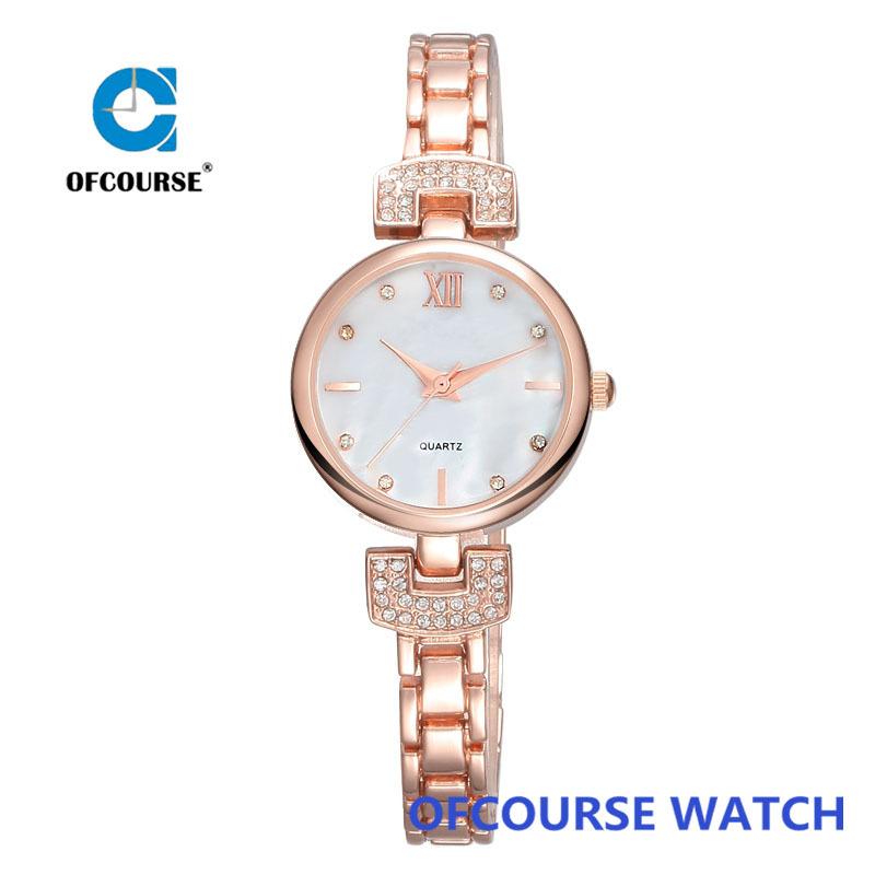 branded luxury jewelry ladies slim bracelet copper wrist