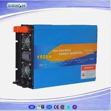 12V/24/48VDC to 110V/230VAC 1500W Pure Sine Wave Power Inverter , Solar Inverter System For Home DS-1500P