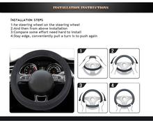 Beautiful Car Best Car Steering Wheel Cover/Car Steering Wheel Cover Hot Sale