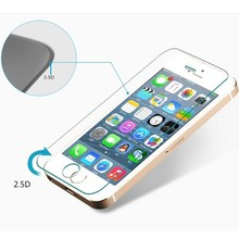 Round Angle Tempered Glass Screen Ward for iPhone 5 with Best Quality