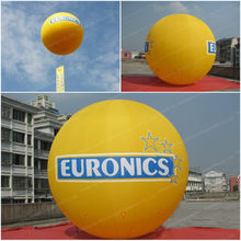 2014 hot-selling advertising self inflating mylar balloon/inflatable human balloon/inflatable balloon