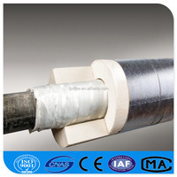 Calcium Silicate Pipe High Density Insulation Heat Insulation Materials Low Price Calcium Silicate Pipe