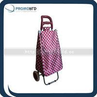 Shinny point pvc trolly shopping bag Waterproof trolly bag waterproof shopping bag trolly