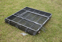 low price chain link box portable dog kennel runs
