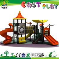 2015 kids outdoor games kids tunnel slide playground equipment