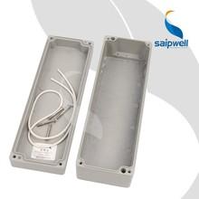 Saipwell SP-AG-FA21 250 * 80 * 64 mm de aluminio de aluminio IP66 proyecto caja CE de las cajas eléctricas