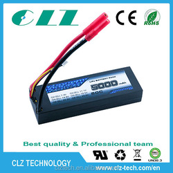 50C high discharge rate 6S 22.2v rc lipo battery rc helicopter/car battery pack