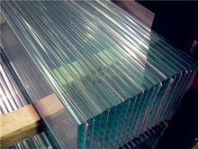 6mm,8mm Clear Louver Glass with CE Certificate