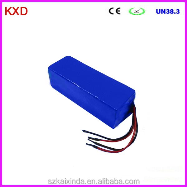 Kxd 24volt 16ah rechargeable 7s8p li ion battery pack for Avantage batterie lithium ion