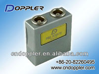 Ultrasonic creep wave transducers and probes