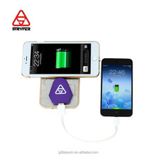Stryfer universal dual usb car charger wireless power bank, touch charge mobile case cover for Apple&iphone6 6+ 5s