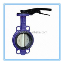 D71X Manual/Handle Wafer Butterfly Valve