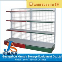 OEM ODM single side middle size 1.5m Highsupermarket store shelf and rack