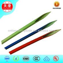 Fiberglass braid silicone rubber sleevings/tubes