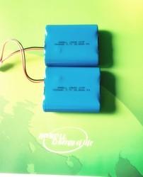 18650 3.7v li-ion battery pack 7800mah for GPS