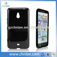 High Quality Black Rubber TPU Case cover For Nokia Lumia 1320 994 995 996 tpu case