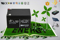 power storage battery 12v 12ah wind generator battery for green energy with long life