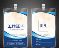 PVC hanger luggage tag Name tag travelling tag with string