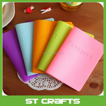 Fashion new promotion most popular passport case, wholesale silicone passport cover with competitive price
