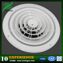ronda de plástico del techo difusor de aire para sistema de ventilación