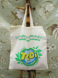 Wholesale Cheap Waterproof Colorful Small Cotton Drawstring Bag