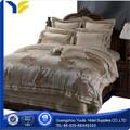 casa venta al por mayor de china de tela de satén nombre de marca de ropa de cama ropa de cama de tejido de hoja