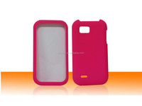 New Product Solid Rubber Matte Plastic Snap on Hard Case for LG MyTouch Q C800