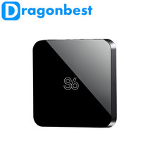 Dragbest S6 AML-S805 Android tv box quad-core 8GB EMMC with Mali-450 S6 S805