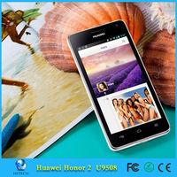 "2G RAM HUAWEI U9508 Honor 2 Quad Core Android Phone 4.5"" IPS 8.0MP 3G GPS Mobile Phone"